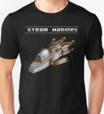 Steam Marines - Transparent Logo Unisex T-Shirt