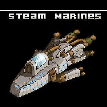 Steam Marines - Transparent Logo by WorthlessBums