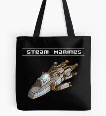 Steam Marines - Transparent Logo Tote Bag