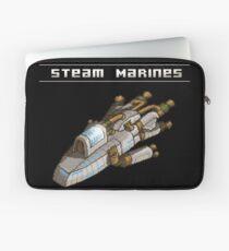 Steam Marines - Transparent Logo Laptop Sleeve