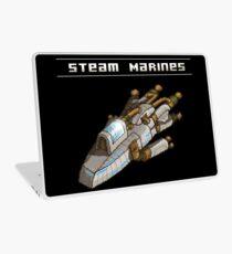 Steam Marines - Transparent Logo Laptop Skin