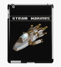 Steam Marines - Transparent Logo iPad Case/Skin
