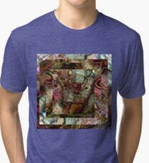 Abalone Abstract Tri-blend T-Shirt