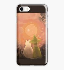Moomin & Snufkin Sunset iPhone Case/Skin