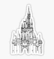 Magic Aesthetic Castle Sticker