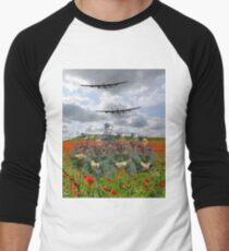 A Tribute To The Dambusters 617 Squadron Crews 1943 Men's Baseball ¾ T-Shirt