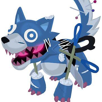 Frightfur Wolf - Yu-Gi-Oh! by TCF-Store