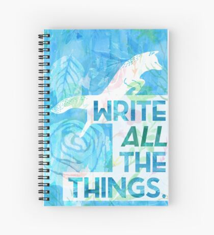 Freezy Fox Spiral Notebook