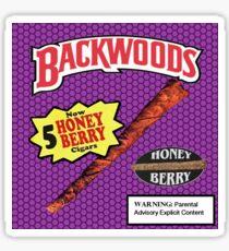 Backwoods Honey Berry  Sticker