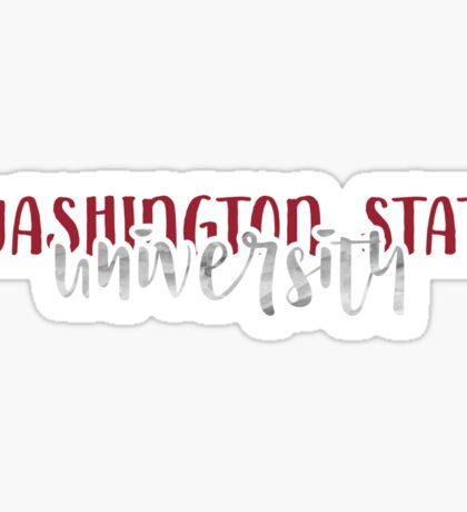 Washington State University - Style 1 Sticker