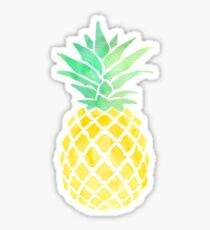 if you were a fruit you'd be a fineapple Sticker