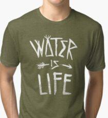 Water Is Life Shirt Tri-blend T-Shirt