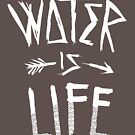 Water Is Life Shirt by Andrew Hart