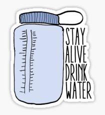 pg version // drink water Sticker