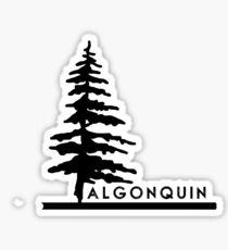 Algonquin Tree Sticker