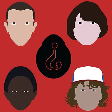 Stranger Things Characters by emilyolive