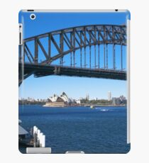 Sydney Harbor Bridge and Opera House iPad Case/Skin