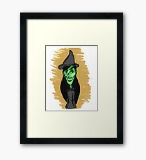 Elphaba - Wicked Framed Print