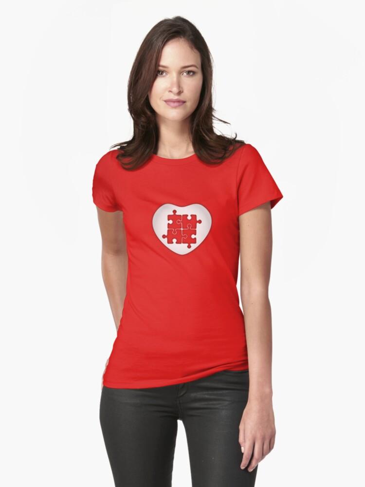 Puzzled Heart by chunkymonkey