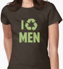 I Recycle Men Womens Fitted T-Shirt