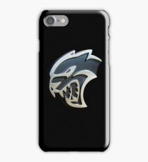 The 'Kitty' - Dodge Challenger SRT Hellcat emblem iPhone Case/Skin