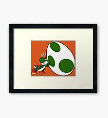 Yoshi's Huge Egg Framed Print