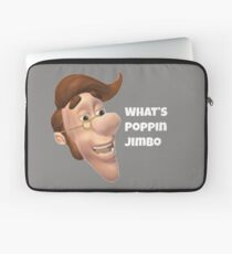 What's poppin jimbo meme Laptop Sleeve