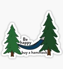 Hammock life Sticker