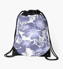Gently lilac flowers. Drawstring Bag