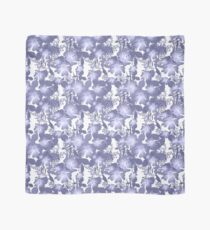 Gently lilac flowers. Scarf