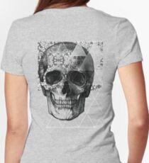 Dias de Los Geomuertos Womens Fitted T-Shirt