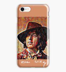 Oscar Wilde with Signature iPhone Case/Skin