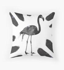 Flamingo stars Throw Pillow