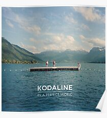 In A Perfect World of Kodaline Poster