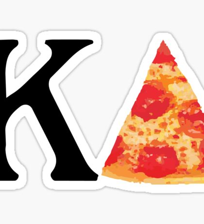 Pizza Kappa Delta Sticker