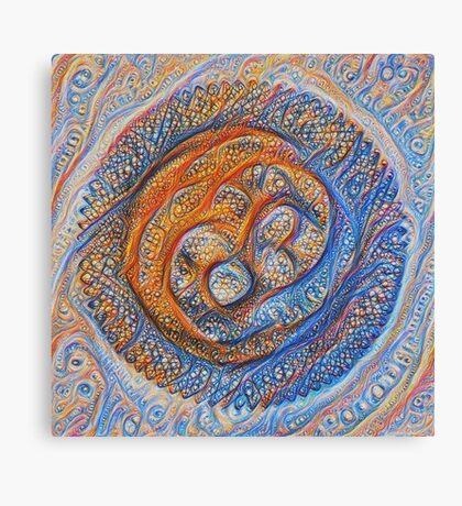 Orbits #DeepDream Canvas Print