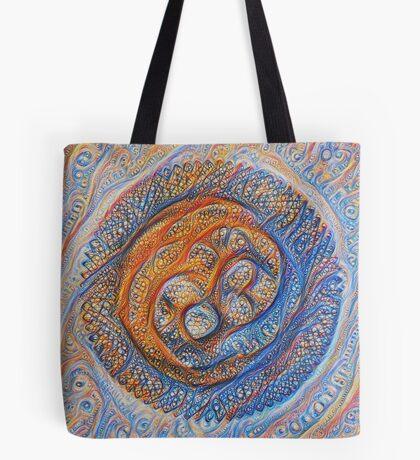 Orbits #DeepDream Tote Bag