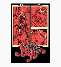 JoJo's bizarre adventure Steel Ball Run Photographic Print