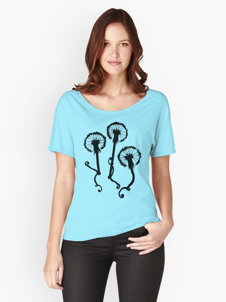 Lovely Dandelions Women's Relaxed Fit T-Shirt Front
