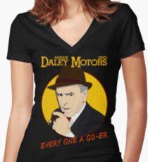 Minder - Arthur Daley T-Shirt Women's Fitted V-Neck T-Shirt