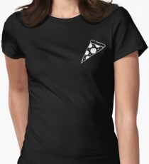 Dope Pizza Women's Fitted T-Shirt