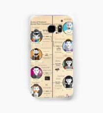Theatre Styles Infographic Poster Samsung Galaxy Case/Skin