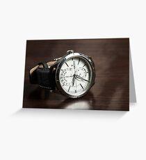 Wristwatch Greeting Card