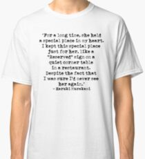 """My heart is """"reserved"""" for you (Typewritten) Classic T-Shirt"""