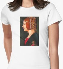 Leonardo's Beatrice Womens Fitted T-Shirt