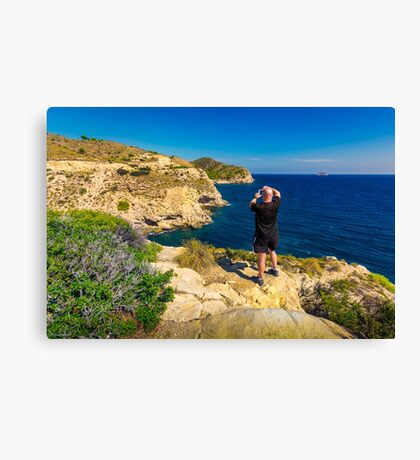 Location scouting Canvas Print
