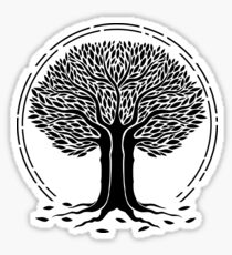 desolate tree Sticker