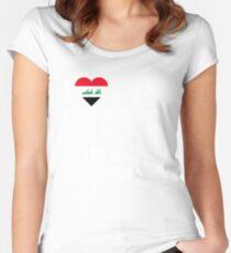 I Love My Hot Iraqi Husband Women's Fitted Scoop T-Shirt