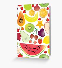 Fruit Greeting Card