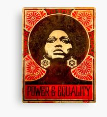 Angela Davis poster 1971 Canvas Print